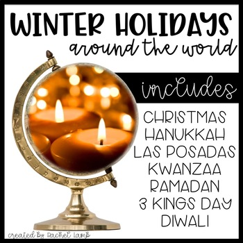 Winter Holidays Powerpoints and Scrapbook Bundle! Common Core aligned!