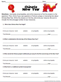 Winter Holidays Research Scavenger Hunt Pack