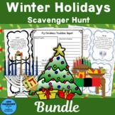 Winter Holidays Scavenger Hunt Bundle