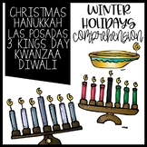 Winter Holidays Comprehension Activities