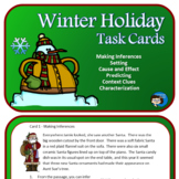 Winter Holidays Task Cards