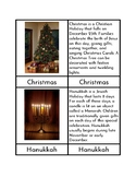 Winter Holidays - Three/Four Part Cards