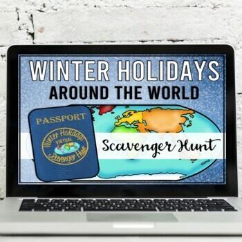 Winter Holidays Around the World Virtual Scavenger Hunt
