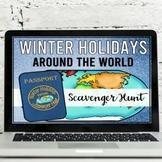 Winter Holidays Around the World Virtual Scavenger Hunt  (