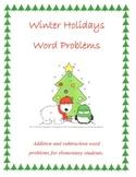 Winter Holidays Word Problems