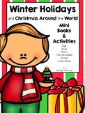 Winter Holidays and Christmas Around the World Mini Books and Activities
