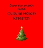 Winter Holidays of the World Project Based Research