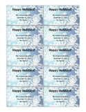 Winter Homework Pass *Free! Editable! Colorful!*