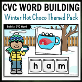 Winter Hot Choco Themed CVC Word Building Pack