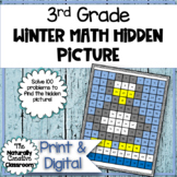 Winter Hundred Chart Hidden Picture
