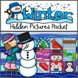 Winter Hundreds Chart Hidden Picture Packet