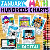 Winter Hundreds Chart Hidden Pictures Fun Pack