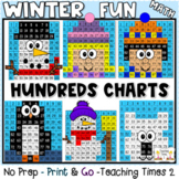 Winter Hundreds Chart Hidden Pictures Fun Pack