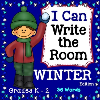 Winter I Can Write the Room