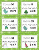Winter I Have Who Has Multiplication Game Facts 2 to 12