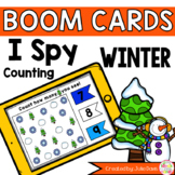 Winter I Spy Counting Activity Digital Game Boom Cards Distance Learning