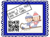 Winter I Spy Math With QR Codes