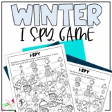 Winter I-Spy Seek & Count Pages | Winter Games for Kids |