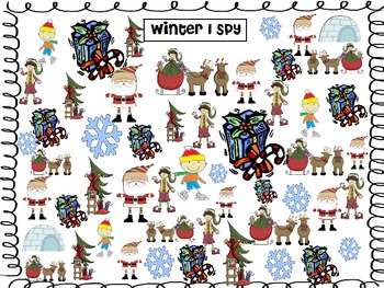 Winter I Spy and Graph