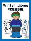 Winter Idioms FREEBIE