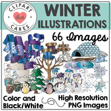Winter Illustrations Clipart by Clipart That Cares