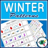 Winter Image Patterns Printable Distance Learning