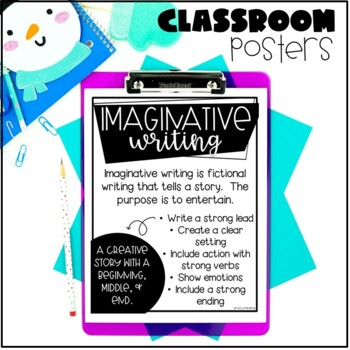 Winter Writing Activity-Snow Globe Writing Prompt