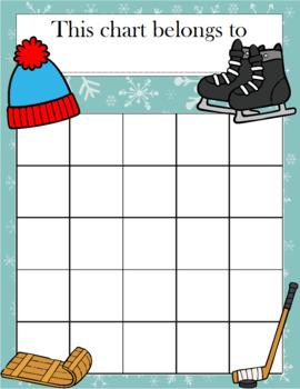 Winter Incentive Chart