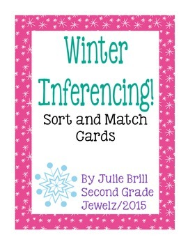Winter Inferencing Riddle Cards