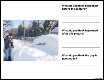 Holiday - Winter Inferencing: What Happened Before and After? Real Pictures