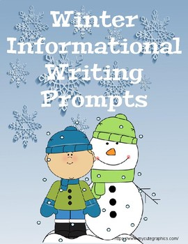 Winter Informational Writing Prompts