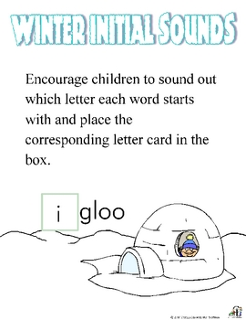 Winter Initial Sounds