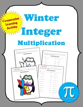 Winter Integer Multiplication Cooperative Learning