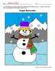 Winter Integer Subtraction Cooperative Learning