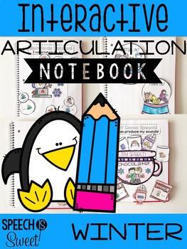 Winter Interactive Articulation Notebook