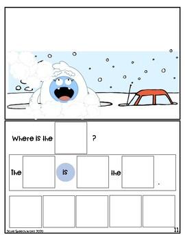Winter Interactive Book