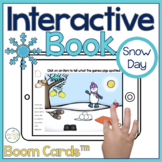 Winter Interactive Book Boom Cards™️   Snow Day Speech Therapy