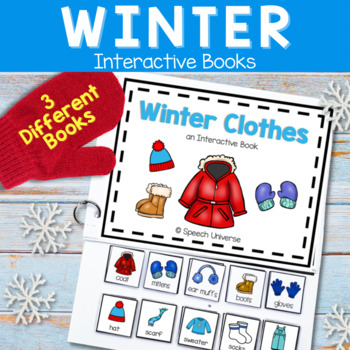 Winter Interactive Books: Autism, Special Education