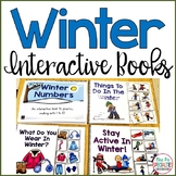 Winter Interactive Books (Adapted Books For Special Education & Speech Therapy)