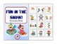 Winter Interactive Books for Building Vocabulary