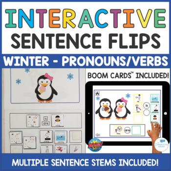 Winter Interactive Books and Activities Bundle