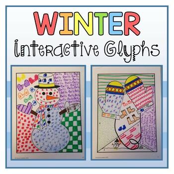 Winter Interactive Glyphs