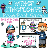 Winter Interactive Place Value Games