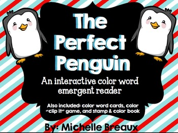 Winter Interactive Reader & Center Activities Adapted for