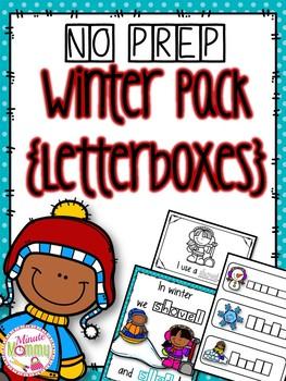 Winter Interactive Unit {Letterboxes}