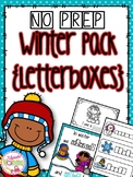 Emergent Readers: Winter Theme {Letterboxes}