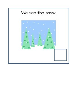 Winter:  Interactive Vocabulary Book
