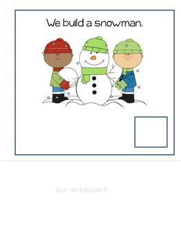 Winter:  Interactive Vocabulary Book (AAC, non-verbal, low verbal)