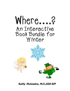 Winter Interactive Where Books - Speech & Language Therapy