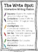 Winter - Interactive Writing Station: The Write Spot (Grades 3-5) Complete